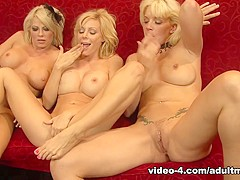 Brooke Haven & Heidi Mayne & Holly Sampson in Nothing better than a torrid lesbian threesome  - Adul