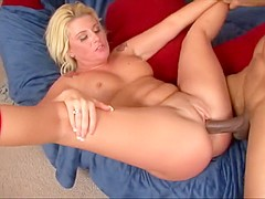 Exotic pornstar Summer Storm in horny milf, interracial porn scene