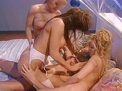 Exotic pornstars Mia Ciccero, Jill Kelly and Kylie Ireland in amazing brunette, redhead xxx scene