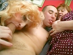 Donna And Iris Take A Hard Fucking From A Young Guy