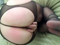 Phat Ass Shows Off New Crotchless Panties
