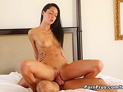 Exotic pornstar in Fabulous Cunnilingus, Brunette xxx movie