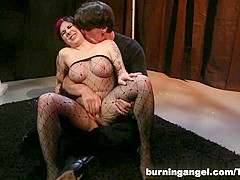 Crazy pornstar in Incredible HD, Stockings adult movie