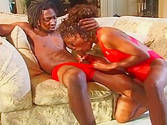 Dark Chocolate Cum Slut Gets Stuffed With Cock
