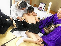 Waka Kano in Waka Kano gets used up and fucked during a funeral ceremony - AviDolz