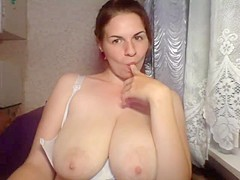 Webcam big boobs and areolas 12