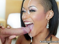 Amazing pornstar Skin Diamond in Best Black and Ebony, Pornstars porn clip