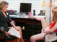 Prinzzess & Marie McCray in Lesbian Tutors #02, Scene #01 - GirlfriendsFilms
