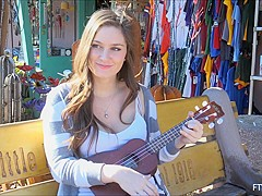 Summer in Ukulele Girl Scene 1 - FTVGirls