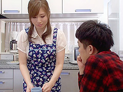 Stepson Fantasizes About His Mom - MilfsInJapan