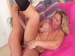 Fabulous pornstar Pamela Jane in hottest blonde, cunnilingus sex scene