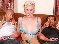 Dylan Phoenix & Small Hands & Xander Corvus in Double Teaming My Stepsister Dylan Phoenix - BurningA