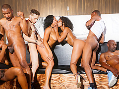 Misty Stone & Chanell Heart & Jezabel Vessir & Quinn Quest in Black Kings And Queens, Scene #01 - De