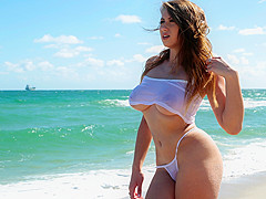 Ivy Rose & Tyler Steel in Boobs In Paradise - BigNaturals