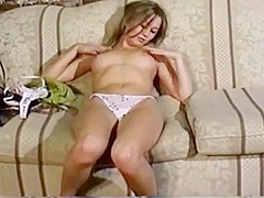 Euro college girl First Time