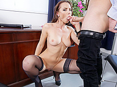 Aidra Fox & Sean Lawless in NaughtyOffice