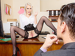 Cadence Lux & Ryan Driller in NaughtyOffice