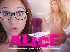 Sara Luvv & Adriana Sephora in The Faces of Alice: Part Two - GirlsWay