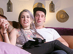 Joanna Angel & Dylan Phoenix & Lady Luna & Small Hands & Gage Sin in BTS Episode 91 - BurningAngel