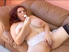 Sexy bbw loves a hard cock in her pussy