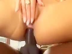 Big dick in the anus blonde