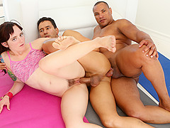 Maci May & Gabriel D'Alessandro & Jay Cruz in Wanna Fuck My Wife Gotta Fuck Me Too #08, Scene #02 -