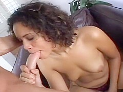 Curly Haired Cutie Loving Big Dick