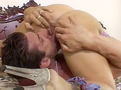 Exotic pornstar Jessica Darlin in horny blowjob, cumshots sex video