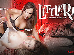 Abigail Mac & Kendra Lust & Cassidy Klein in Little Red: A Lesbian Fairy Tale: Part Four - GirlsWay