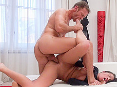 Evelina B & Loren B & Rocco Siffredi in Nasty Four-Way Porn Audition - EvilAngel