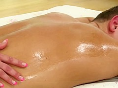 Romantic Massage Ends In Passionate Sex