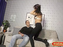 Amateur Couple Fucks On Cam