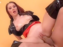 Incredible pornstar in fabulous redhead, facial porn scene