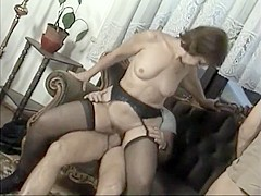 Horny Homemade clip with Threesome, Brunette scenes