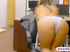 Amateur woman screwed by nasty pawn guy