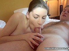 Pavel & Zena Little in From A Ride To Hot Sex - CasualTeenSex