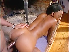 Amazing pornstar Traci Vegas in exotic black and ebony sex movie