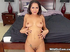 Abby Lee Brazil in Exotic Abby Fucking Live - WildOnCam