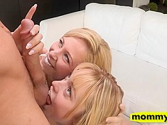 Lucy Tyler and Cherie Deville horny 3way