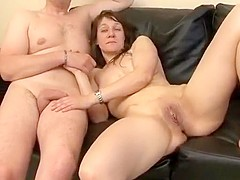 Incredible Homemade movie with Threesome, Mature scenes