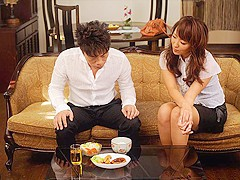Erika Hiramatsu is having casual sex with her husband's friend - AviDolz