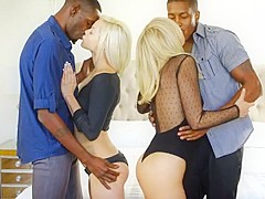 Blacked bbc interracial kissing compilation