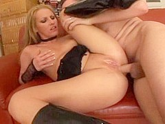 Incredible pornstar Victoria Blond in amazing blonde, striptease xxx movie