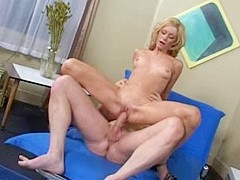 Crazy pornstar Kelly Jensen in exotic blonde, 69 adult scene