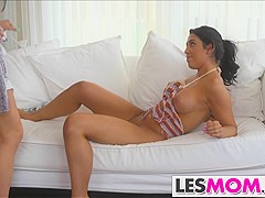 Lacey Lucia gets seduced by mom Jaclyn Taylor
