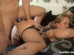 Ashley Rider in Cheating Wives In Stockings - Hustler
