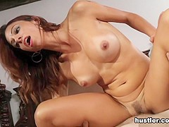 Eva Long in Caught In The Act - Hustler