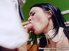Samantha Bentley & Jasmine Jae in Tantalizing Pussy Slamming - HarmonyVision