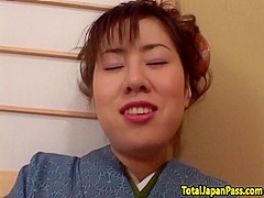 Cockriding japanese teen orally satisfied