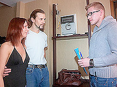 Edward & Kristina & Roman in Fucked To Pay The Bills - SellYourGF